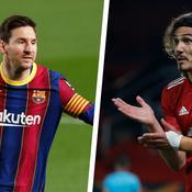 Lionel Messi & Edinson Cavani