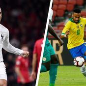 Antoine Griezmann et Neymar Jr