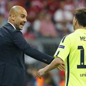 Pep Guardiola et Lionel Messi