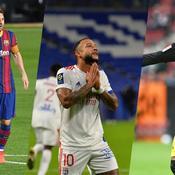 Lionel Messi, Memphis Depay, Jadon Sancho
