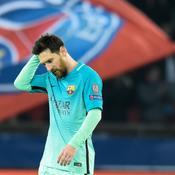 Lionel Messi face au PSG, le 14 février 2017