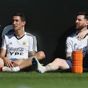 Angel Di Maria et Lionel Messi