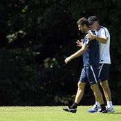 Thiago Motta et Laurent Blanc