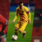 Neymar Jr, Lionel Messi et Kylian Mbappé