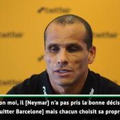 Rivaldo : «Neymar a pris une mauvaise décision en quittant le Barça»