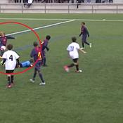 Un jeune de 16 ans passe du Barça au PSG ... Ses prouesses en vidéo