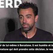 Xavi sur Neymar : «Une bombe, il est spectaculaire, humble et travailleur»