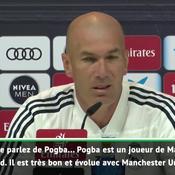 Zidane sur Pogba : «On verra à la fin de  la saison»
