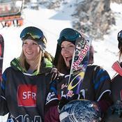 Dara Howell, Kaya Turski et Anna Segal (Brett Wilhelm/ESPN)