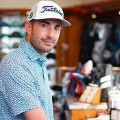 Arnaud Sérié, golfeur-artiste à la française
