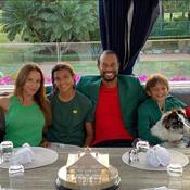 """Masters : le dîner des champions """"style quarantaine"""" de Tiger Woods"""