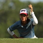 Céline Boutier co-leader de l'US Open après le 3e tour