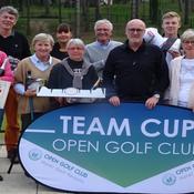 Team Cup Open Golf Club sur le parcours d'Hardelot (62)