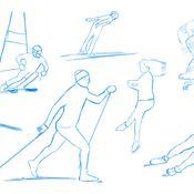La beauté des gestes olympiques