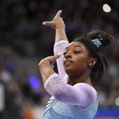 Quand la légende de la gymnastique, Simone Biles, s'entraîne à l'Insep