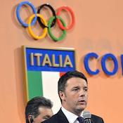 Renzi lance Rome et l'Italie vers les JO 2024