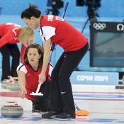 Entraînement curling USA