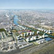 Village olympique de Pleyel-Bords de Seine