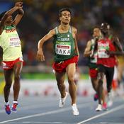 L'Algérien Abdellatif Baka, titré sur le 1500m, plus rapide que les «valides» à Rio