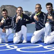 L'aviron français débloque son compteur grâce au bronze du quatre sans barreur
