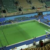 Plongeon olympique : Le mystère de «l'eau verte» résolu