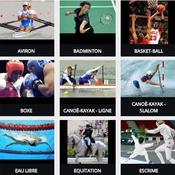 Les sports olympiques de Rio 2016