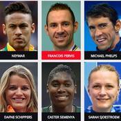 Les stars des Jeux olympiques
