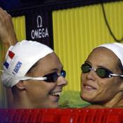 Esther Baron et Laure Manaudou