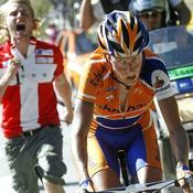 Tour de France étape 8: fan de Rasmussen