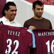 Carlos Tevez à West Ham