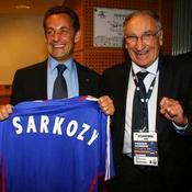 Nicolas Sarkozy a son maillot