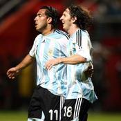 Tevez-Messi