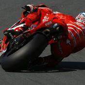 La Ducati vue de derrière