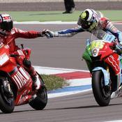 Rossi devant Stoner