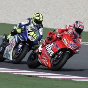 Stoner devant Rossi
