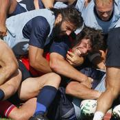 Coupe du Monde de Rugby : France, Chabal, Pelous