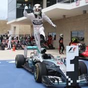 Lewis Hamilton 2015 saut