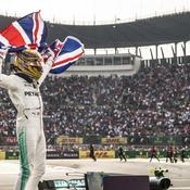 Lewis Hamilton 2017 Mexique