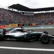 Lewis Hamilton 2018 Mexique