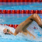 Agnel dans le sillage de Phelps