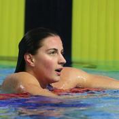 Charlotte Bonnet aux championnats de France de natation