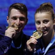 Mondiaux de plongeon: De l'or historique pour les Français Marino et Rosset
