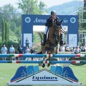 Victor Levecque : un jeune cavalier en course