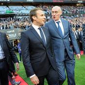 Pour Macron, être sélectionneur du XV de France «c'est pire que d'être président»
