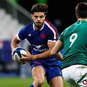 XV de France: Ntamack forfait contre l'Italie et probablement l'Irlande