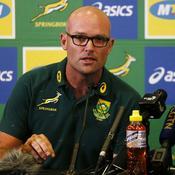 Le nouveau sélectionneur des champions du monde sud-africains sous haute surveillance