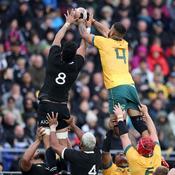 Devant 31.000 spectateurs non masqués, l'Australie a tenu tête aux All Blacks