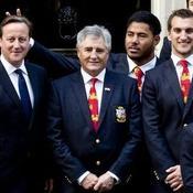 Cameron et les Lions britannique et irlandais