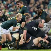 Les Sud-Africains ont été balayés par les Irlandais la semaine dernière.
