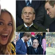 Le prince Albert, Kylie Minogue et la famille royale d'Angleterre étaient à Twickenham